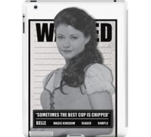 Wanted Belle iPad Case/Skin