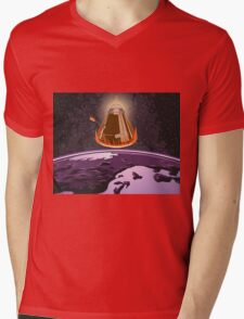KSP Landing Mens V-Neck T-Shirt