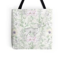 Deer Garden- Vines Tote Bag