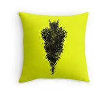 Bat Storm Throw Pillow
