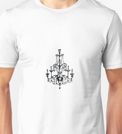 Hanging Chandelier Unisex T-Shirt
