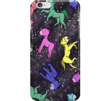 Horses' in Space iPhone Case/Skin