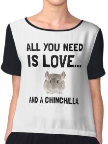 Love And A Chinchilla Chiffon Top