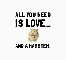 Love And A Hamster Unisex T-Shirt