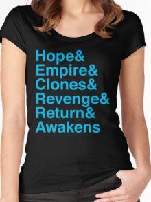 Machete Saga Women's Fitted Scoop T-Shirt
