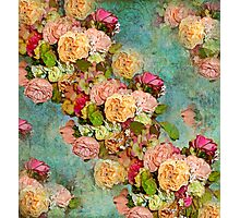 ROSES SO ROMANTIC Photographic Print