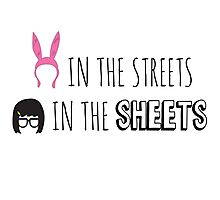 Tina in the Sheets Photographic Print