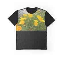 San Juan Islands, Washington State,  Flowers Graphic T-Shirt