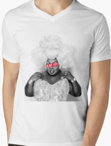 Eat it! Mens V-Neck T-Shirt