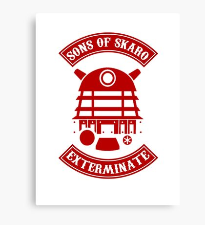 Sons of Skaro Canvas Print
