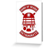 Sons of Skaro Greeting Card