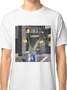 Vintage yellow art - Charles Rennie Mackintosh  - Yellow Tulips Classic T-Shirt