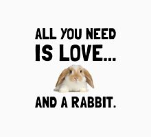 Love And A Rabbit Unisex T-Shirt