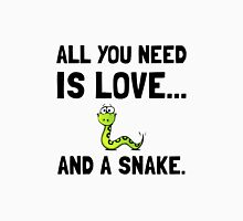 Love And A Snake Unisex T-Shirt