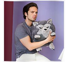 Sebastian Stan and Friend <3 Poster