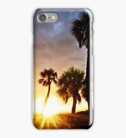 Clearwater Sunset iPhone Case/Skin