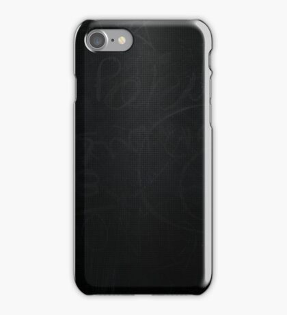 Chalk Board iPhone Case/Skin