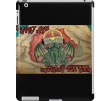 Too Silly iPad Case/Skin