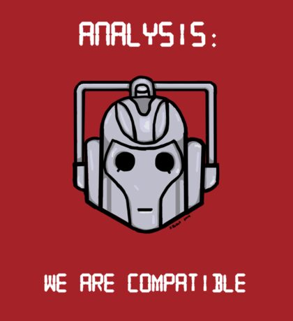 We Are Compatible (Cyberman) Sticker
