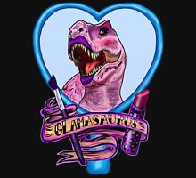 Glamasaurus (black) Unisex T-Shirt