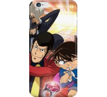 Lupin and Conan iPhone Case/Skin