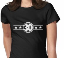Thirty Stars Womens Fitted T-Shirt