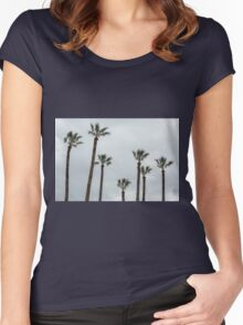 Exotic palms Women's Fitted Scoop T-Shirt