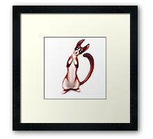 Snowshoe Kitty Framed Print