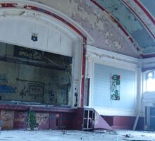 Abandoned Ballroom Sticker