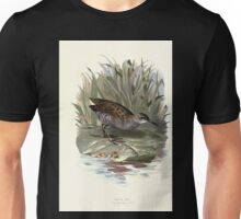 Familiar wild birds Swaysland 1883 V2 127 Water Rail Unisex T-Shirt