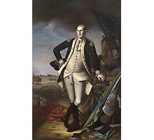 Vintage famous art - Charles Willson Peale - George Washington Photographic Print