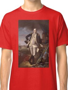 Vintage famous art - Charles Willson Peale - George Washington Classic T-Shirt