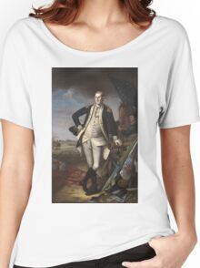 Vintage famous art - Charles Willson Peale - George Washington Women's Relaxed Fit T-Shirt