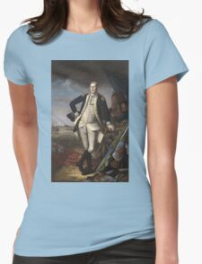 Vintage famous art - Charles Willson Peale - George Washington Womens Fitted T-Shirt