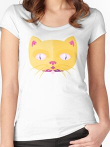 Silly Kitty Women's Fitted Scoop T-Shirt
