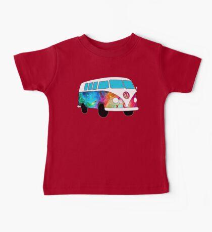 VW Rainbow Hippie Bus! Baby Tee