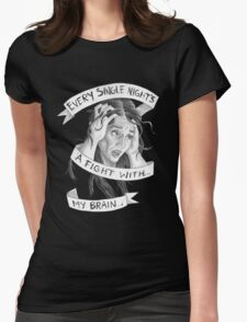 Every Single Night Womens Fitted T-Shirt