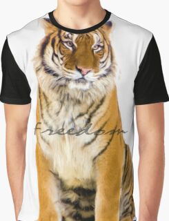 Tiger Freedom Graphic T-Shirt