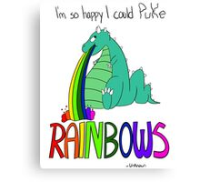 Rainbow Sarcasm Canvas Print