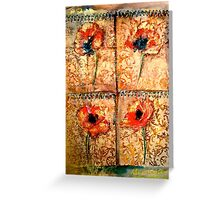 The Poppy Journals...The Tapestry Greeting Card