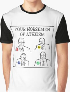 Four horsemen of atheism Graphic T-Shirt