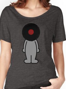 Vinylized!!! Vinyl Records DJ Music Man Women's Relaxed Fit T-Shirt