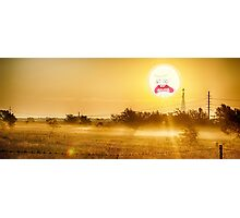 SCREAMING DAWN SUMMER TIME RICK AND MORTY Photographic Print