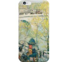 Paris, Pont Royal -  Childe Hassam  iPhone Case/Skin