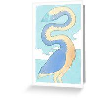 neck bird Greeting Card