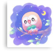 Pokemon - Rowlet Canvas Print