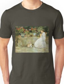 Vintage famous art - Childe Hassam - Reading Unisex T-Shirt