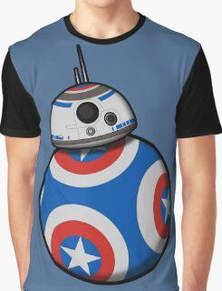 Captain Ameribot Graphic T-Shirt