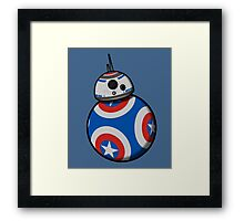 Captain Ameribot Framed Print