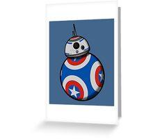 Captain Ameribot Greeting Card